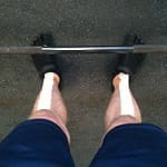 foot positioning for the deadlift