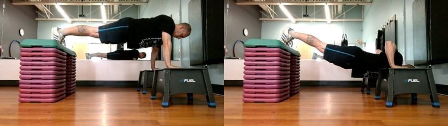 How to do Decline Atlas Push-Ups https://www.getstrong.fit/Atlas-Push-Up-Exercise-Guide/Exercises