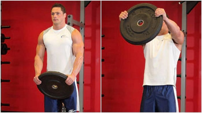 The Front Plate Raise - Get Strong