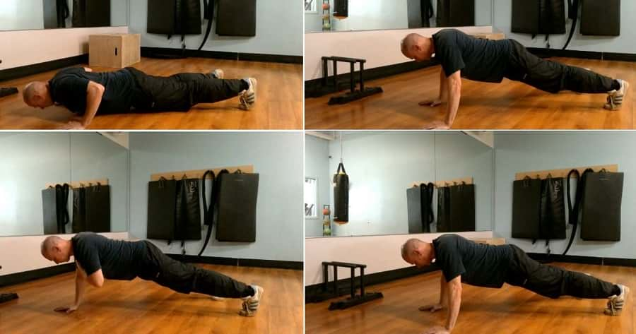 how to do the Shoulder Tap Push-Up