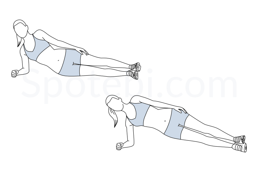 drawing shoeing how to do a side plank