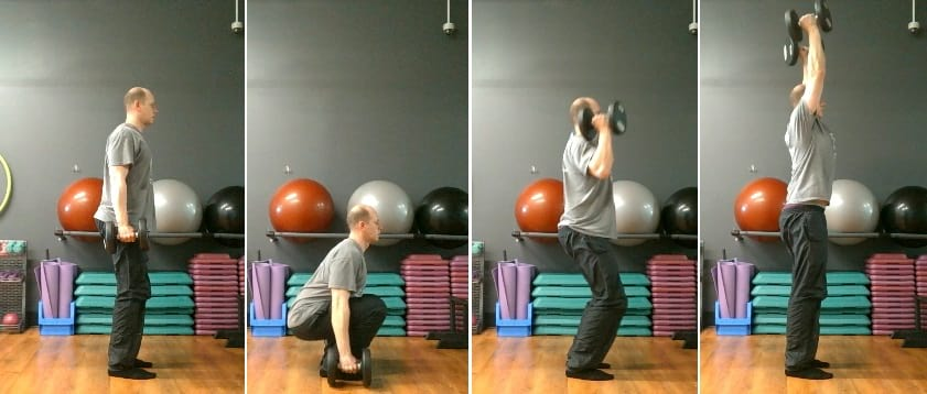 The Squat Curl Press Exercise Guide - Get Strong