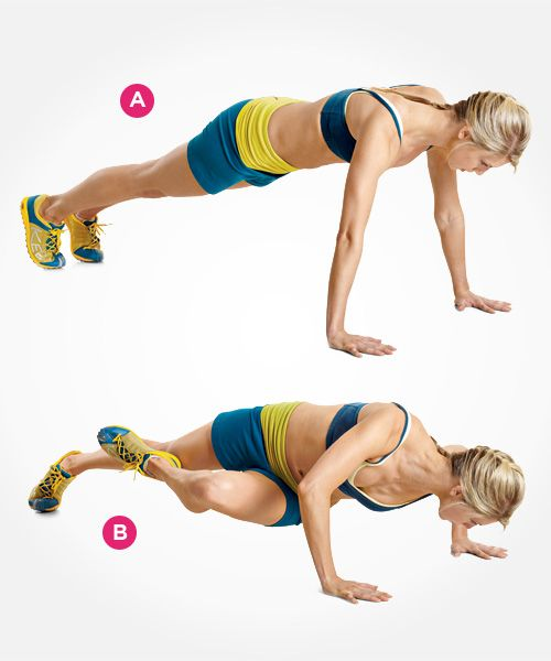 how to perform the grasshopper push-up https://www.getstrong.fit/Your-Grasshopper-Push-Up-How-To-Exercise-Guide/Exercises