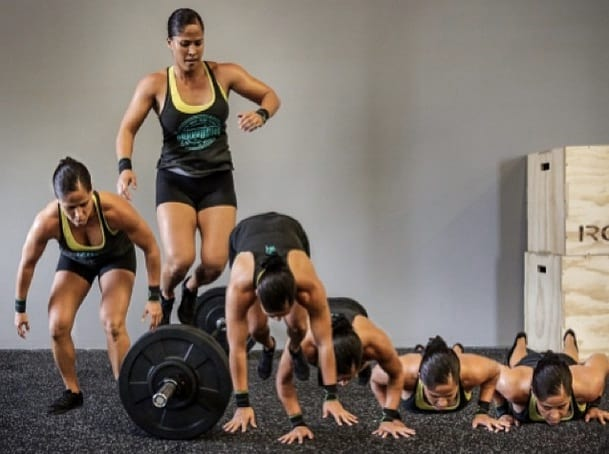 Over The Bar Burpees How To