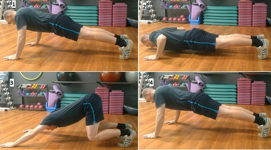 how to do the push back push-up https://www.getstrong.fit/The-Push-Back-Push-Up-Exercise-Guide/Exercises